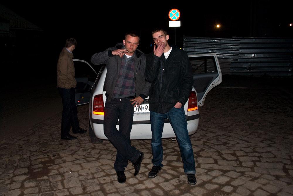"""Melanż po nagrywkach na album """"Ludzie Szy"""" (16.04.2011)"""