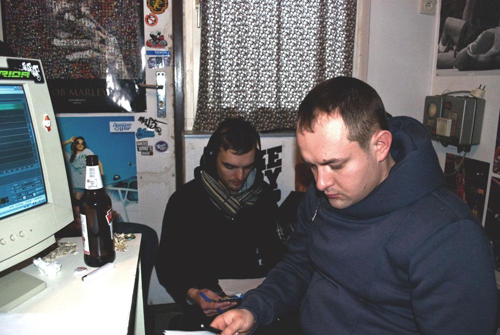 """Sesja nagrywkowa na album """"Ludzie Szy"""" (28.01.2012)"""