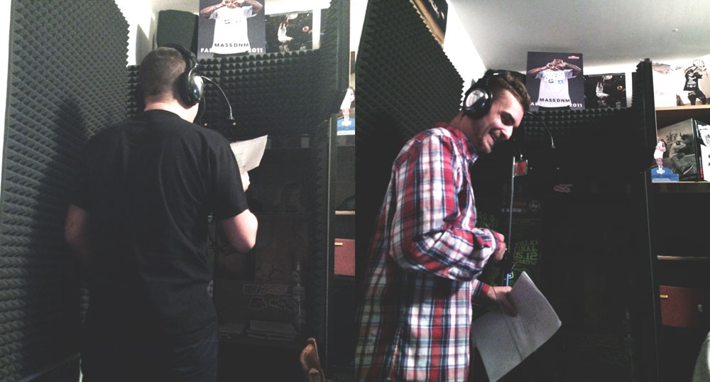 "Sesje nagrywkowe do ""Back To Back"" (15.11.2014)"