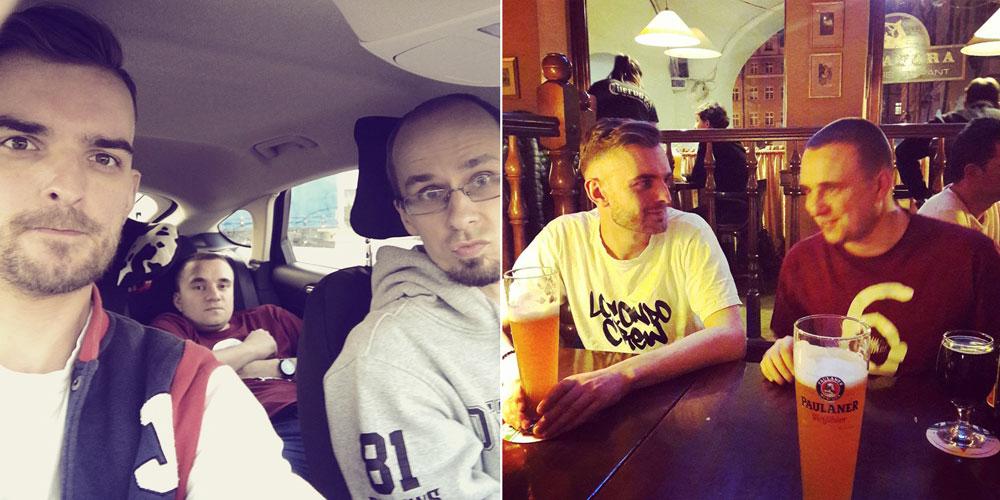 """W drodze do 375 na sesję nagrywkową do """"Dekady"""" (01.04.2017)"""