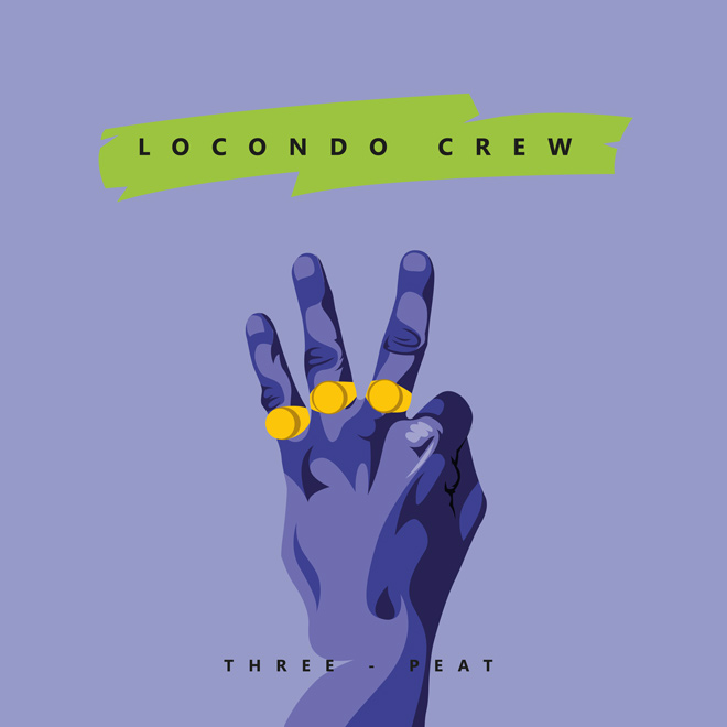 Locondo Crew - Three-Peat (CoverArt)